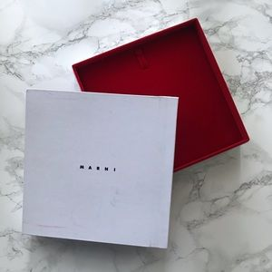 Marni Jewelry Necklace Velvet Box